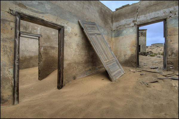 Kolmanskop, Namibia, Architecture, Ghost Town, Sand, D2x