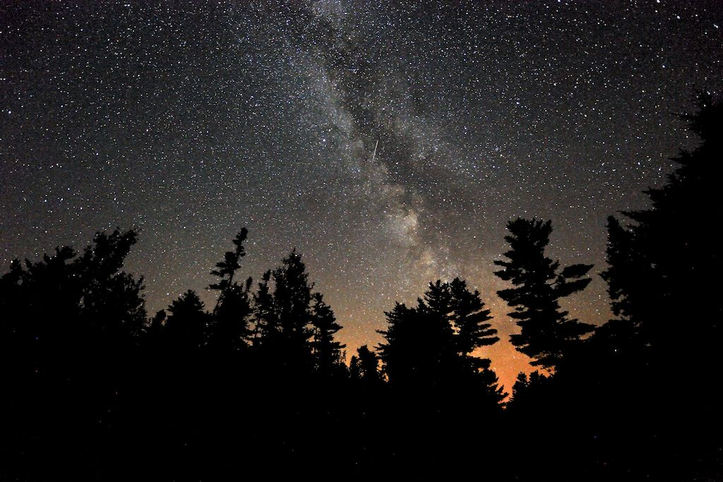 Milky Way at the campground